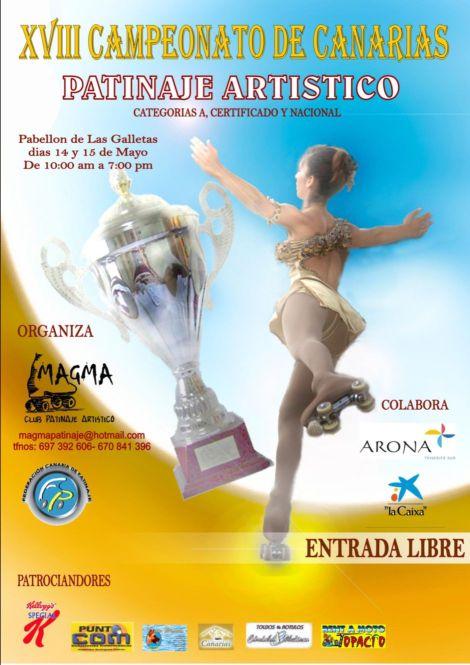 CAMPEONATO CANARIAS PATINAJE ARTISTICO 2011- CLUB MAGMA